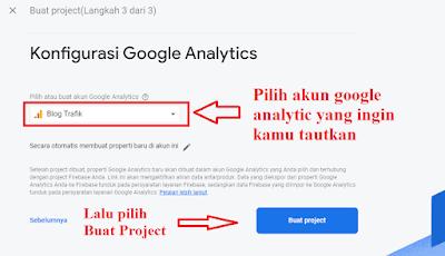 Memili Akun Google Analytics Untuk Di Tautkan