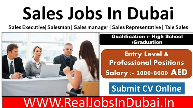 Sales Jobs In Dubai Latest Vacancies - 2020