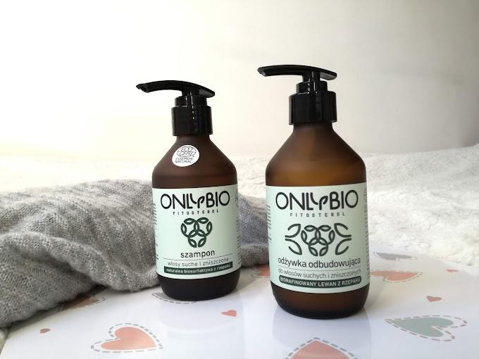 Szampon i odżywka odbudowująca do włosów suchych i zniszczonych | ONLY BIO