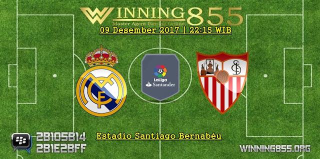 Prediksi Akurat Real Madrid vs Sevilla 09 Desember 2017
