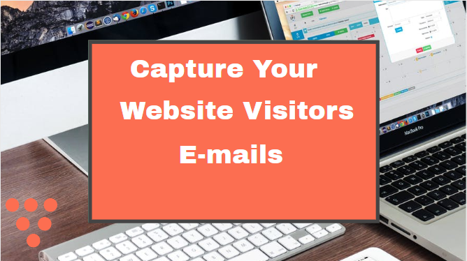 how to capture website email