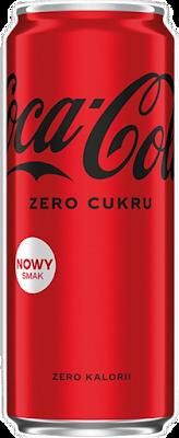 Coca Cola Zero Cukru nowy smak bez kalorii