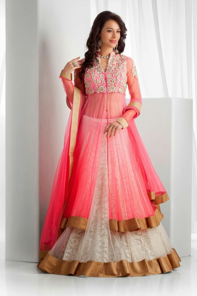 Pakistani Wedding Dresses 2014 For Girls Pictures Photos Simple