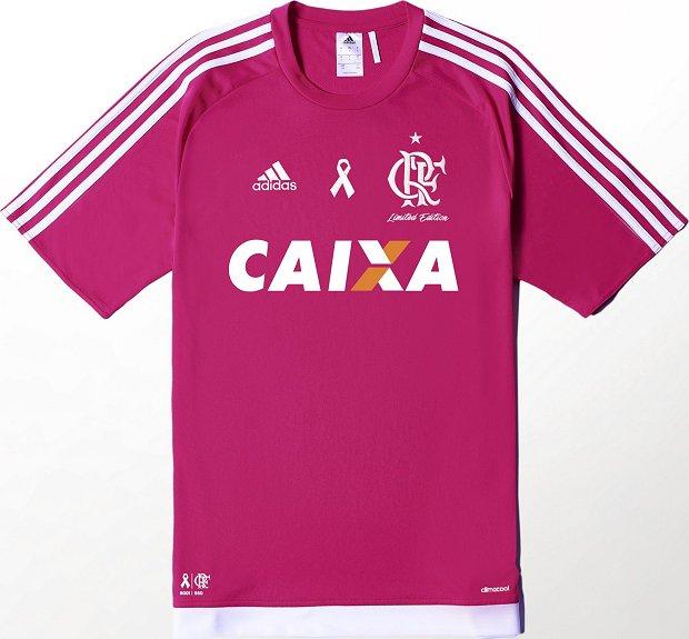 f54f89db4411b Adidas e Flamengo lançam camisa especial na cor rosa - Show de Camisas