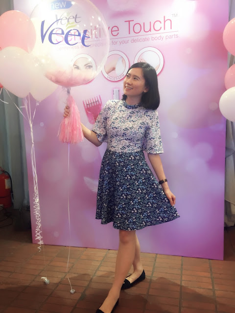 Veet Sensitive Touch Electric Trimmer Beauty Workshop @ The Talent Lounge