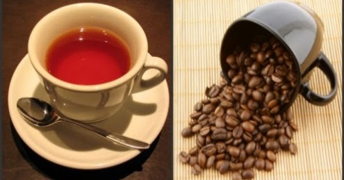 How much caffeine in green tea vs coffee?