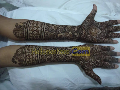 University and College Functions Mehndi Designs