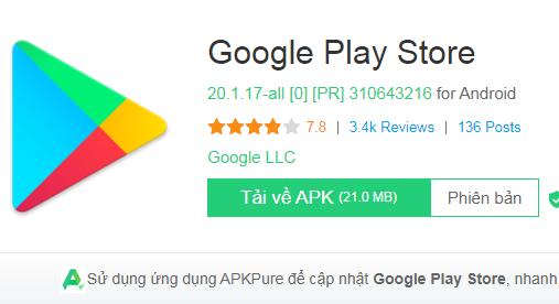 Tải Google Play Store Apk