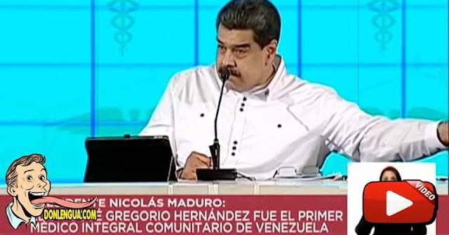 Maduro vuelve a decirle a los refugiados venezolanos que Lavar Pocetas no es Malo
