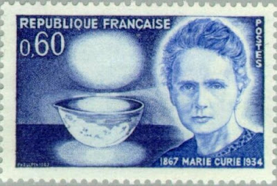 France 1967- Scientist - Marie Sklodowska-Curie
