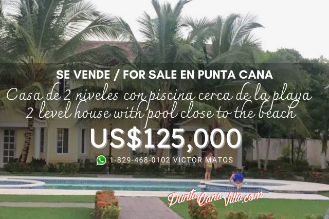 Beautiful 2 level house with Pool and Beach access