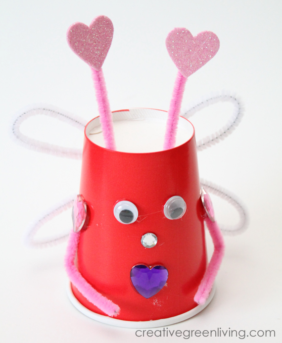 craft ideas for love how to make bugs with recycled paper cups creative 3865