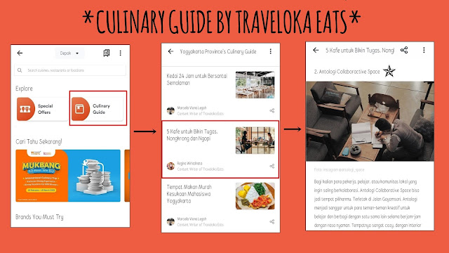 culinary guide by traveloka eats
