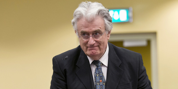 Former Bosnian Serb leader Radovan Karadzic convicted of genocide over Sarajevo