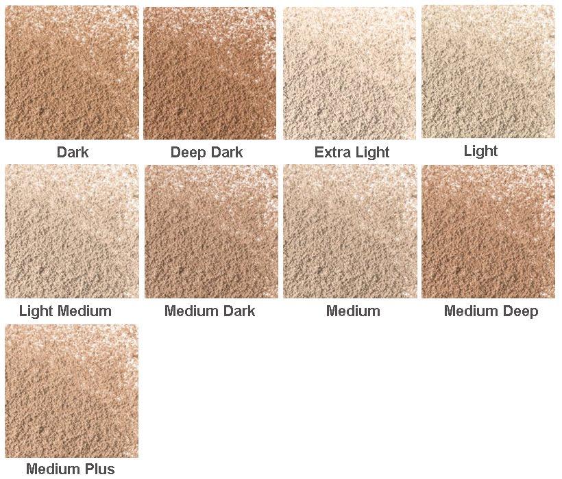 mac mineralize spf 15 foundation loose medium dark