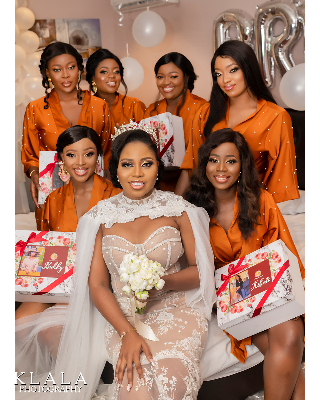 Bridesmaids duties