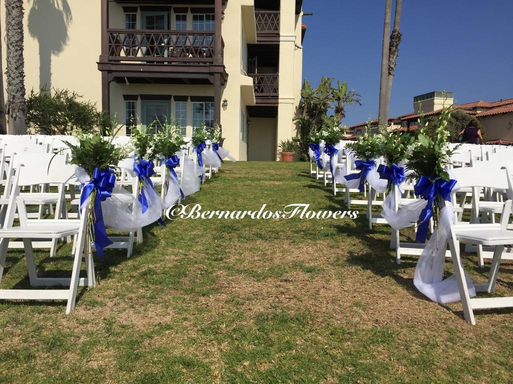 Bernardo\'s Flowers: Outdoor Wedding Ceremony @ Embassy Suites ...