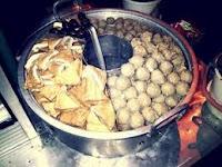 Kangen Makan Bakso Ikan Pasar Malam CNI Puri