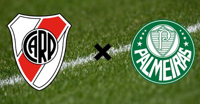 Onde assistir River Plate x Palmeiras AO VIVO 05/01/2021