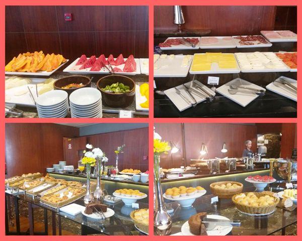 Café da manhã do Hotel Intercontinental São Paulo