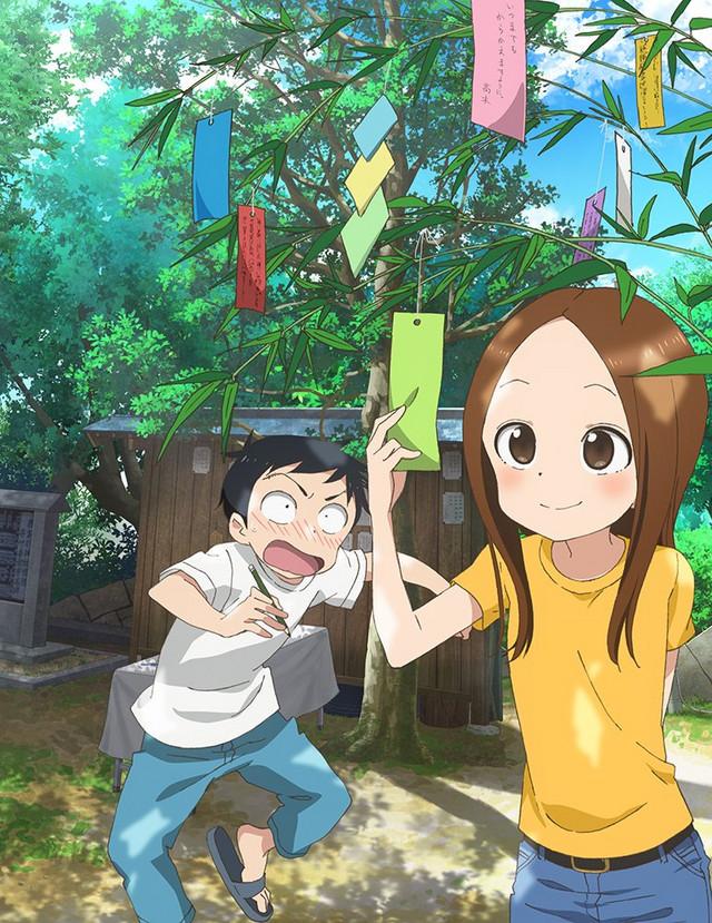 Segunda temporada de Karakai Jozu no Takagi-san estrena imagen promocional