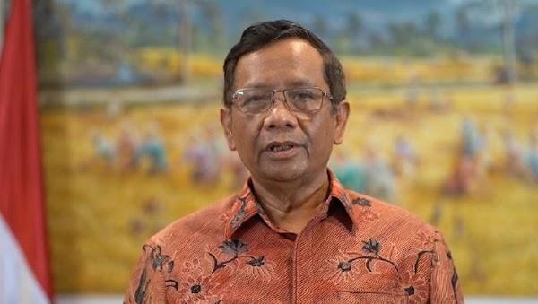 Mahfud soal KLB PD: Tak Ada Masalah Hukum, Pengurus Resmi Masih AHY Putra SBY