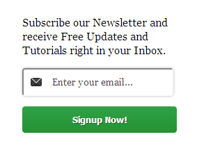wordpress style email subscribe widget for blogger