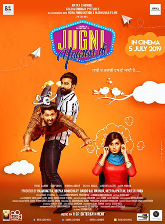 Poster Of Punjabi Movie Jugni Yaaran Di 2019 Full HD Movie Free Download 720P Watch Online