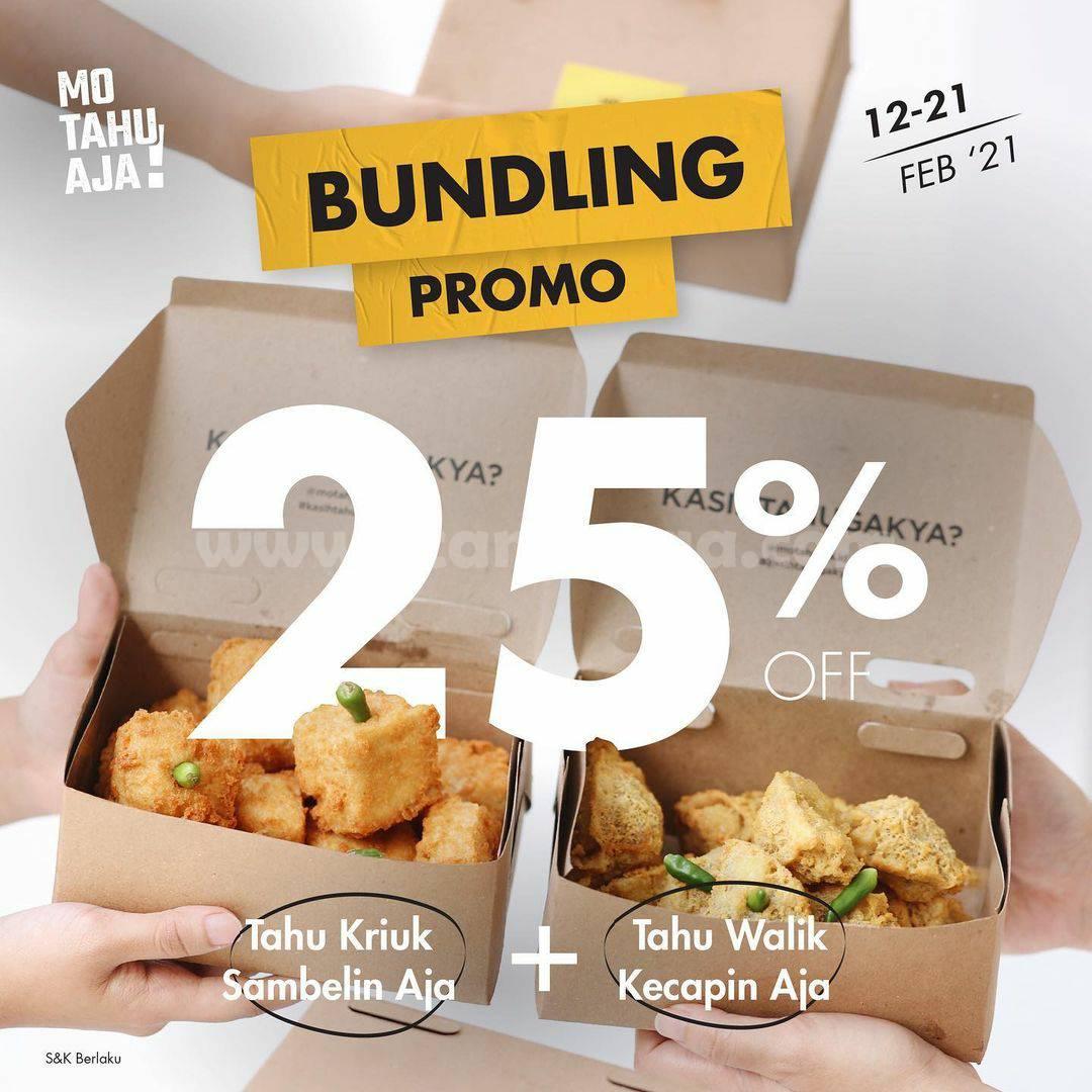 Promo MO TAHU AJA TERBARU! BUNDLING DISKON 25%
