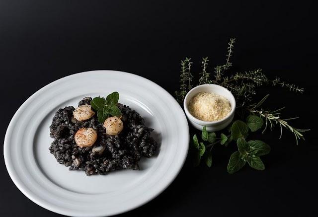 Black Risotto Traditional Croatian Recipe