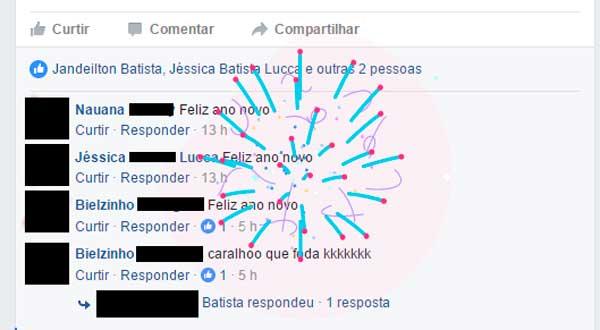 Facebook solta fogos
