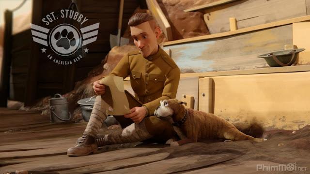 Trung Sĩ Stubby:  Người Hùng Nước Mỹ - Sgt Stubby: An American Hero (2019) [HD Thuyết Minh]