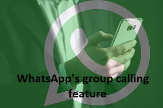 How to use WhatsApp's group calling feature