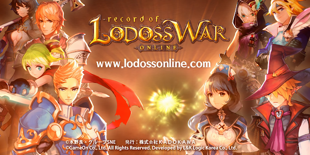 Record of Lodoss War Online - Global Server Launch Tomorrow