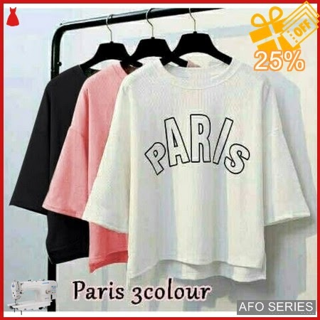 AFO452 Model Fashion Paris Blouse Modis Murah BMGShop
