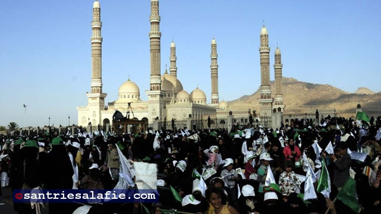 Peringatan Maulid Nabi Muhammad saw di Tarim, Hadramaut, Yaman. by Santrie Salafie