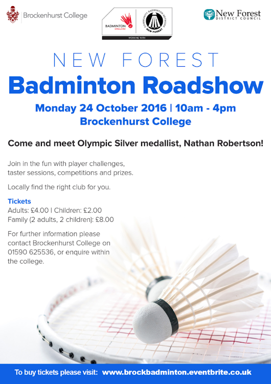 MatchPoint Badminton Club News: October 2016