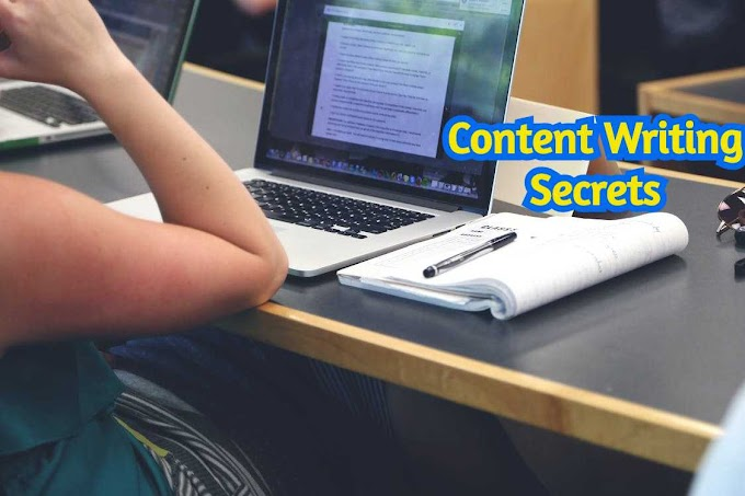 Top Content Writing Secrets of Professional Bloggers