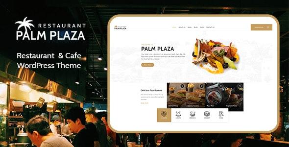Restaurant & Cafe WordPress Theme