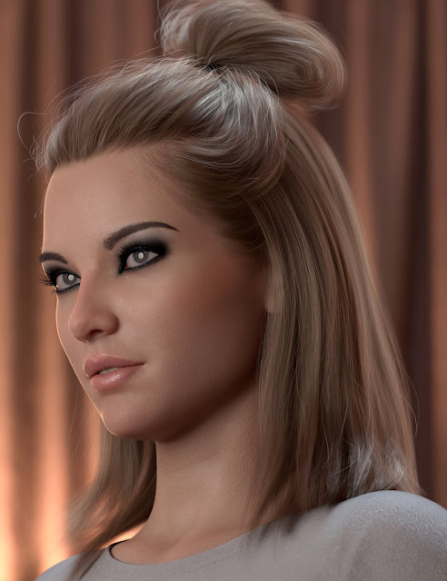 2021-15 Hair for Genesis 8 and 8.1 Females