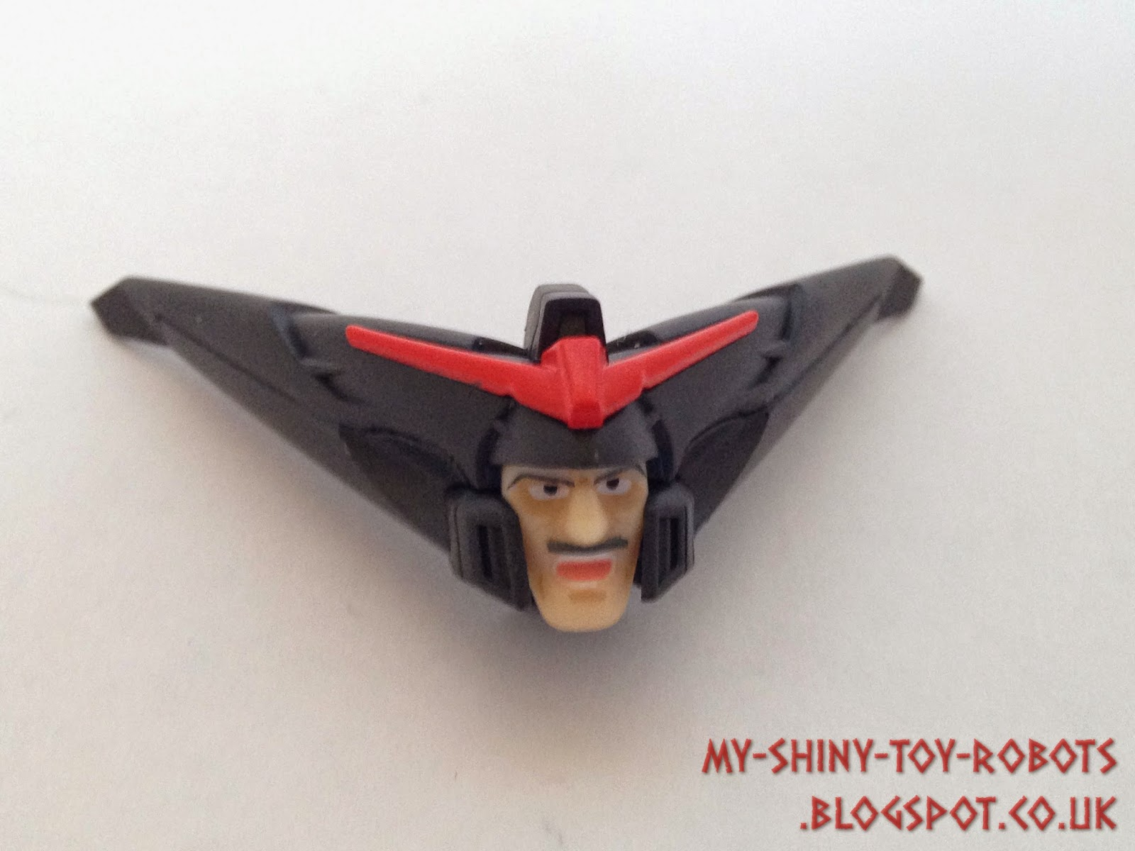 The bonus Robot Damashii head