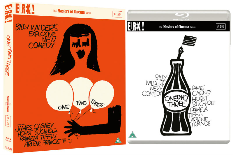 one, two, three billy wilder blu-ray