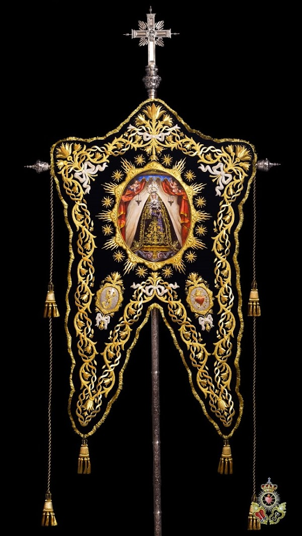Nuevo simpecado de los Dolores de Sanlúcar de Barrameda