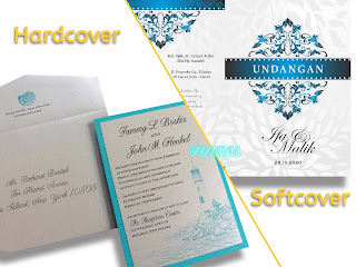 Perbedaan Kartu Undangan Pernikahan Softcover Dan Hardcover