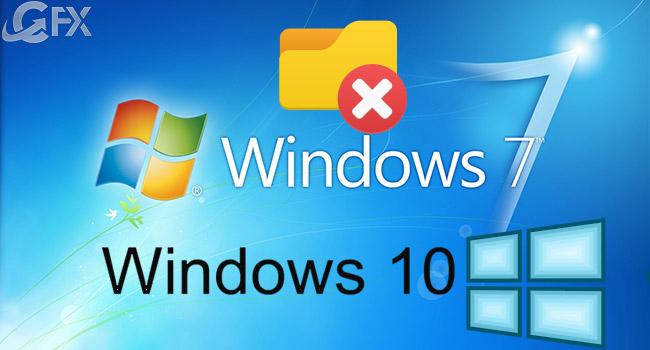 Windows'da Bu Bilgisayar Klasörlerini Kaldırma