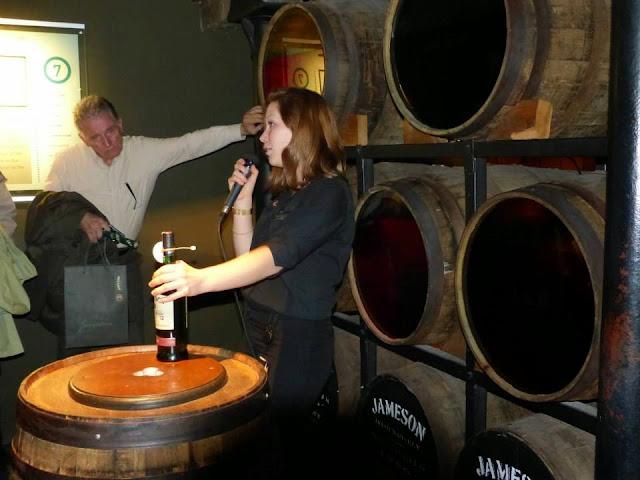 ancienne distillerie whiskey Jameson à Dublin