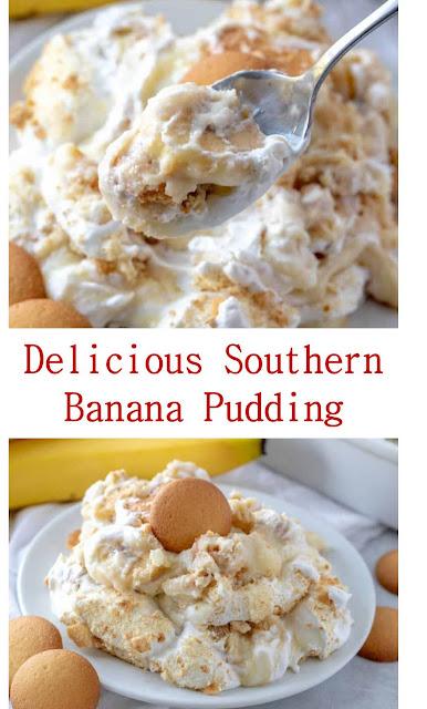 Delicious Southern Banana Pudding #Delicious #SouthernBananaPudding