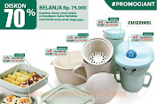 Promo Giant Stamp Perlengkapan Makanan Cuizzinel Diskon 70% Periode 1 Maret - 31 Mei 2020