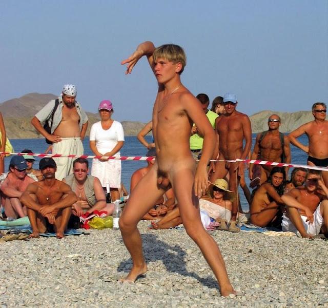 nude boy beauty contest
