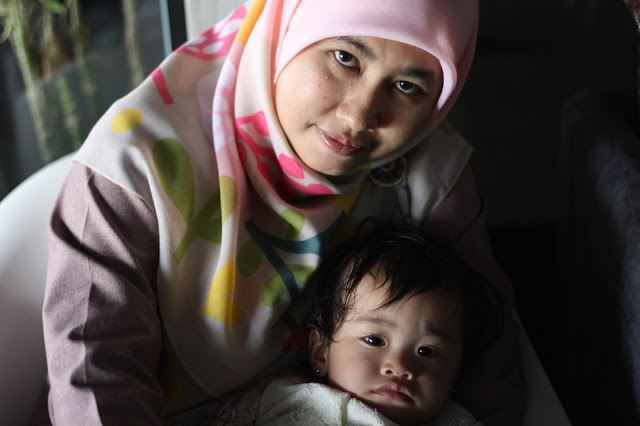 Selamat Harijadi Edreena Izzara Yang Ke Satu Tahun